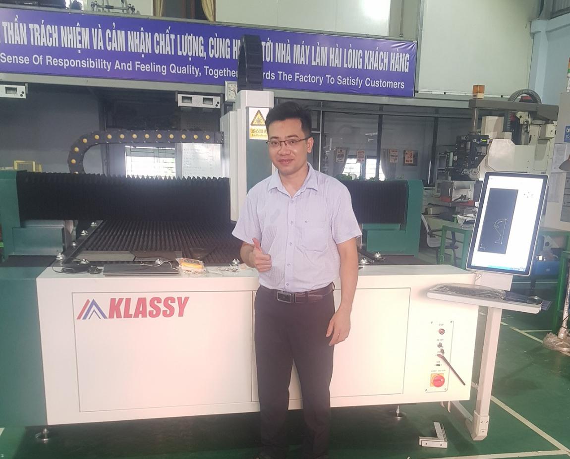 Máy cắt laser CNC Klassy